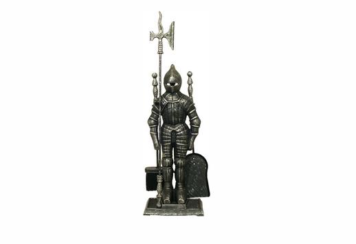 Knight Silver Black