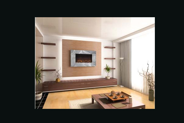Burley Ashwell Wall Mounted Electric Fire