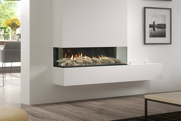 Infinity 890PC Gas Fire – Built In