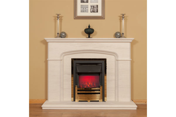 Cheltenham Fireplace Surround in Braga Agglomerate Marble