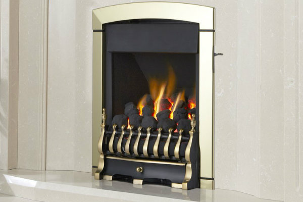 Flavel Calypso Pure Gas Fire – Open Fronted