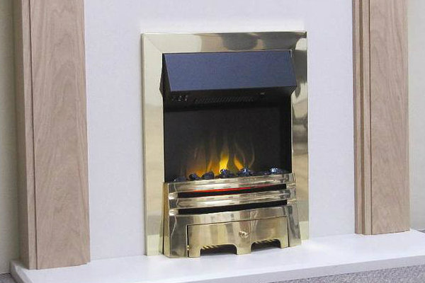 Evonics Casal Brass Electric Fire