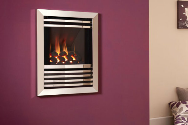 Flavel Expression HE Gas Fire – Glass Fronted