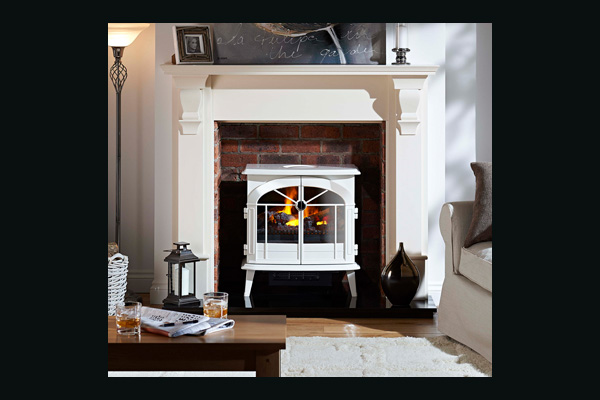 Dimplex Merible Opti Myst Electric Stove White