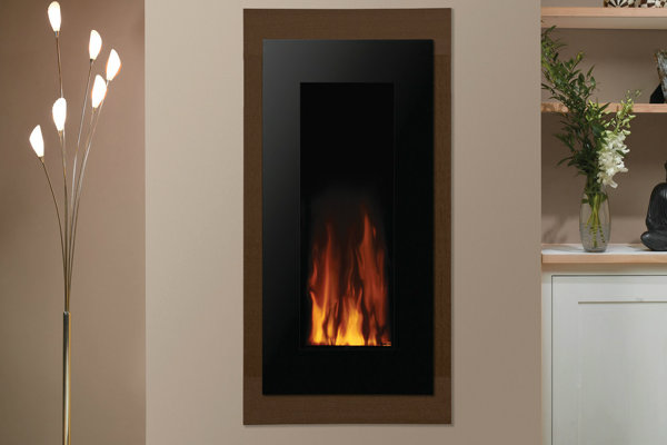 Gazco Studio Electric 22 Verve Wall Mounted Fire in Graphite