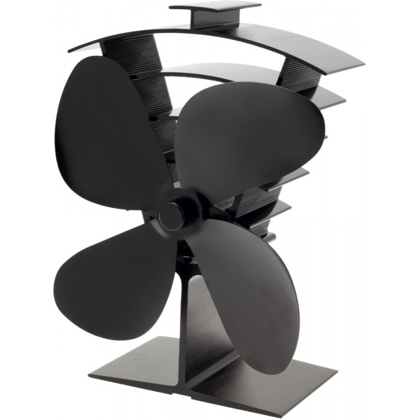 PREMIUM 4 BLADE HEAT POWERED STOVE FAN