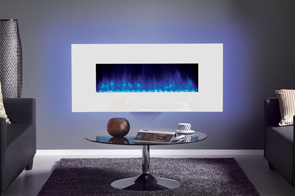 Gazco Radiance Glass Electric Fire Video