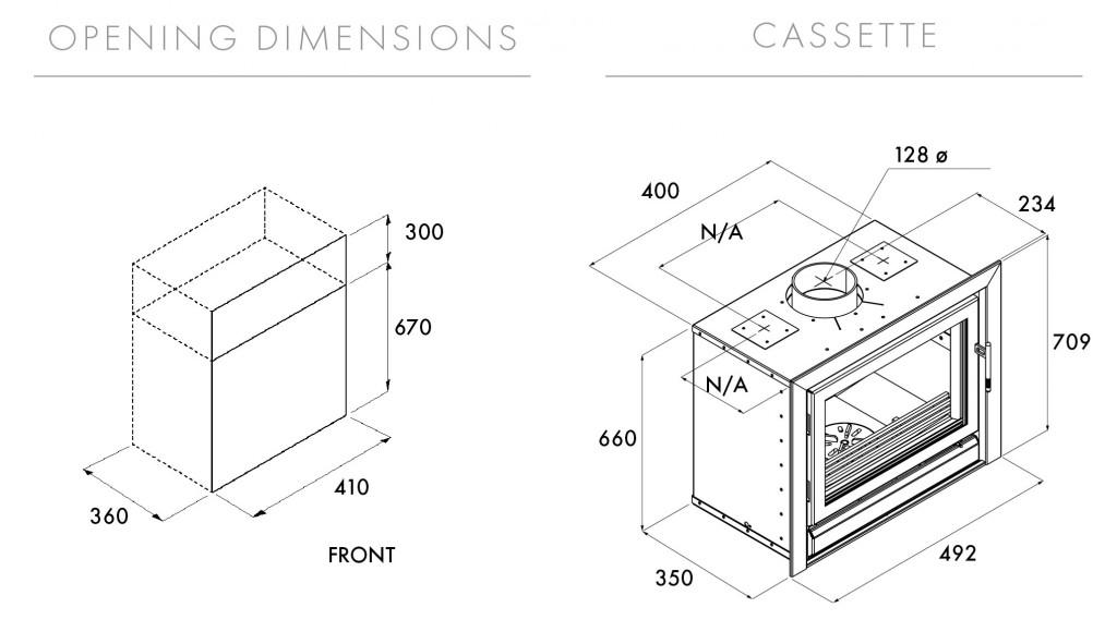 Riva 45 Inset Dimensions